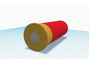 12 gauge shell (12/70)