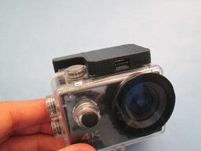 GoPro Waterproof case lock