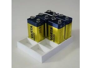 Simple 9V battery holder