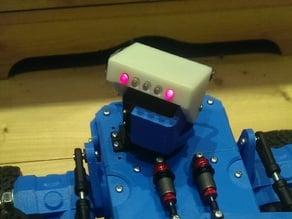Pan-Tilt lighting head for Martian rover