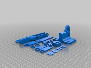 Toggle Clamp (all parts) Plated for Printing