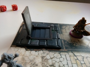 Zombicide Black Plague Dungeon Door
