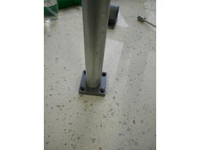 EMT (3/4) mounting plate