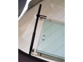 FLARM antenna mount for Mecaplex canopy