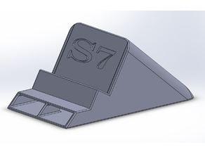 Passive Amp for Samsung S7 with Spigen case.