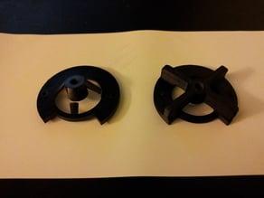 Adjusting screw for my motorized pepper mill, Support de vis de réglage pour poivrier motorisé