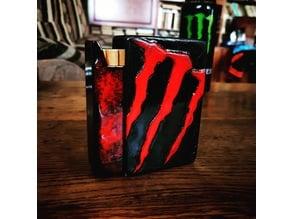 Slide to open cigarette box