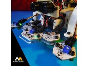 Soportes infrarrojos hexagon para printbot Evolution