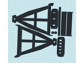 support bobine sur boitier CR-10