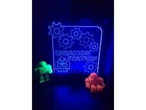 LED Base for Acrylic Edge Lit Sign