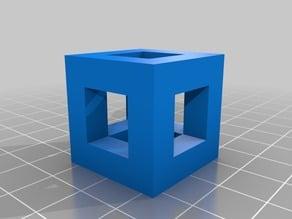 Holey Tolerance cube (torture test)