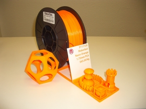Makerbot 1kg Spool Filament Display