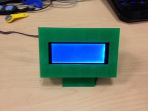 External display case for 20x4 LCD Module