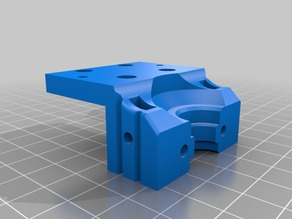 Tronxy x5s e3D Modular mount for linear rail MGN12H on stock machine