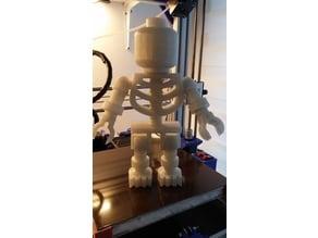 Giant Lego Skeleton (half pieces)