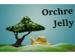 Orchre Jelly by Hyena Lobster