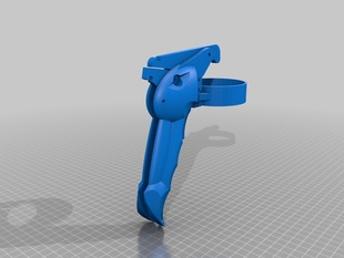 Ergonomic spraygun - Lighter version