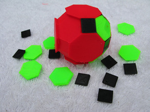 Three Color Archimedean Solids