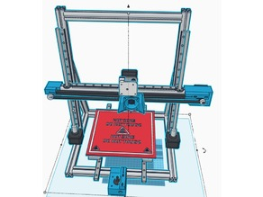 high end 3D printer 250€ / Linear rails / linear motion / mgn 12 /