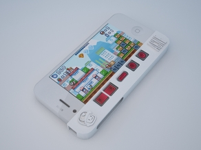 PizzaBoy Gamepad Case for iPhone 4