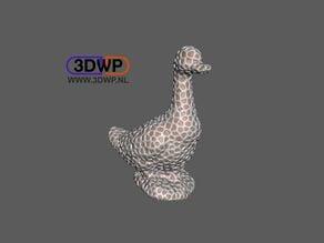 Dual Extrusion Voronoi Duck