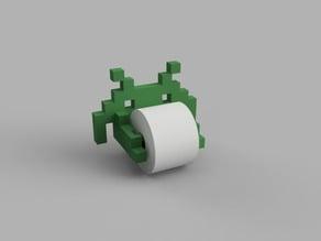 Spaceinvader Toilet paper older