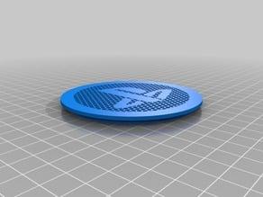 PS4 Fan Grid for 75mm hole