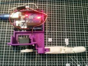 Inmoov finger starter 9g servo adapter