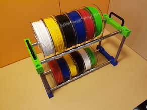 "Filament holder storage 16mm or 3/4"" pipe"