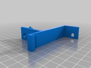 Anycubic i3 Mega Filament clip guide