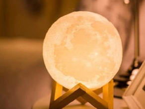 Hot sale moon ball  with LED light
