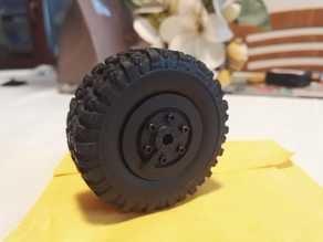 WPL B36 Truck Beadlock Wheels