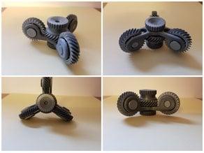Spinner helical gear
