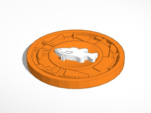 image about Creature Power Discs Printable known as Creature Electrical power Disc by means of Whampus - Thingiverse