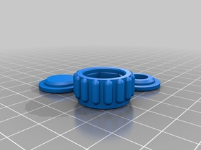 M8 screw clamp and clamping nut set