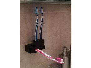 Tiltable Toothbrush-Holder