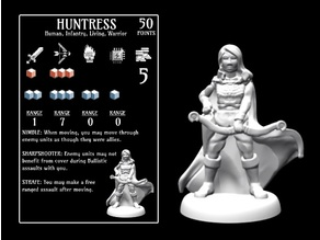 Huntress (18mm scale)