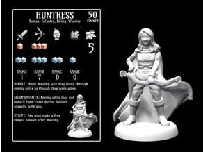 Huntress (18mm scale)