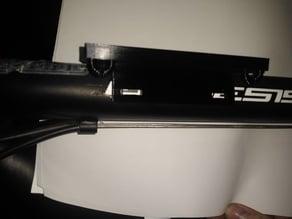 phone/solar pad bike mount