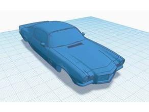 Slot car body 1:43 Chevrolet Camaro Z28