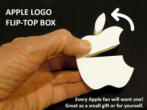 Apple Logo Flip-top Box