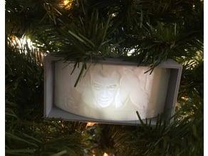 Die Hard John McClane Lithophane Ornament
