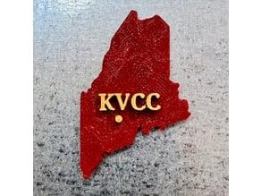 KVCC Maine Magnet