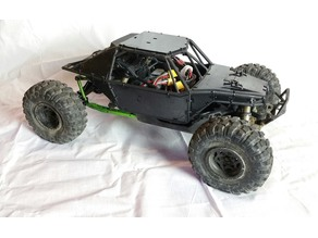Axial Yeti RC Crawler Body Panels