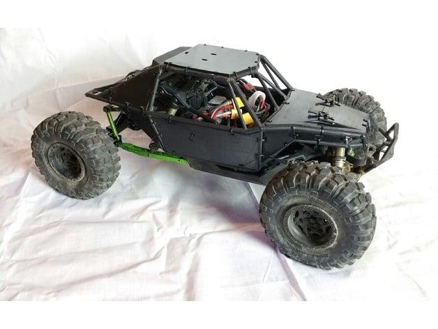 Axial Yeti Rc Crawler Body Panels By Jezric Thingiverse