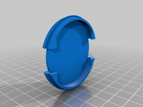 upgrade remix of lens cap for slr 52mm scaleble, now updated with strenghtened weak points