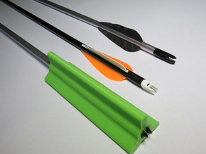 Arrow Fletch Protector/Straightener