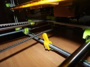 Adjustable Y belt tensioner