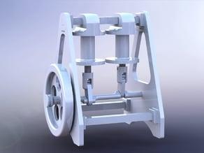 Solenoid motor