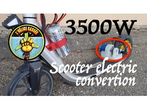 3500W Electric Scooter (Oxelo) 9F V1 - L'Hélice Cassée